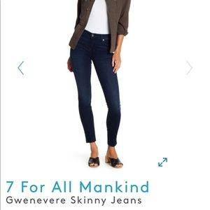 [7 FAM] Gwenevere Skinny Jeans | Size 27